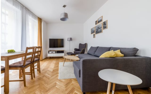 Cerca del centro de Praga, agradable y elegante estancia (área de Vršov