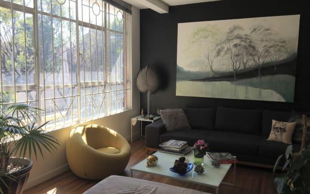 Coole Wohnung in der besten und sichersten Nachbarschaft in Mexiko...