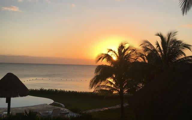 Beachfront Villa in the Mayan Riviera with breathless views