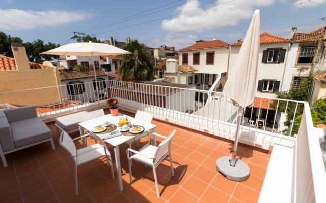 Funchal Old Town Terrace Apartment