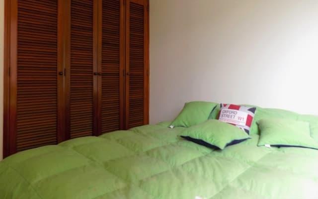 Doppelzimmer und eigenes Bad im Chapinero Alto