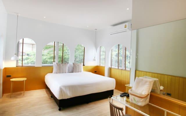 4 habitaciones con 2 baños para hasta 8 personas