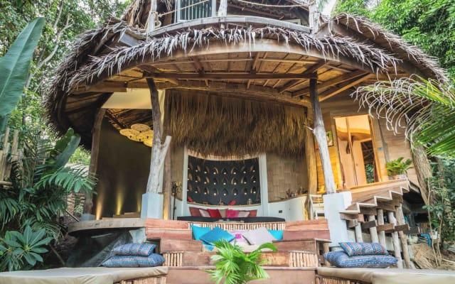 Villa in privatem Luxus Resort an privatem Strand - Sanghamitra