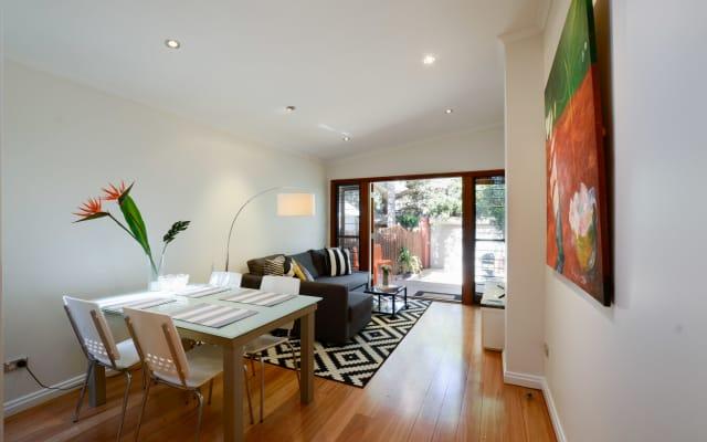 Fresh, Clean & Bright Terrace. Quiet street in Newtown, Sydney