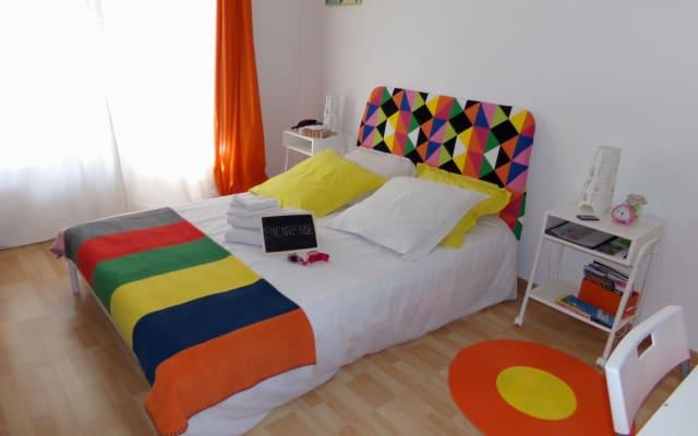 Habitación tranquila en el hermoso apartamento T3 de 76m2 cerca del...