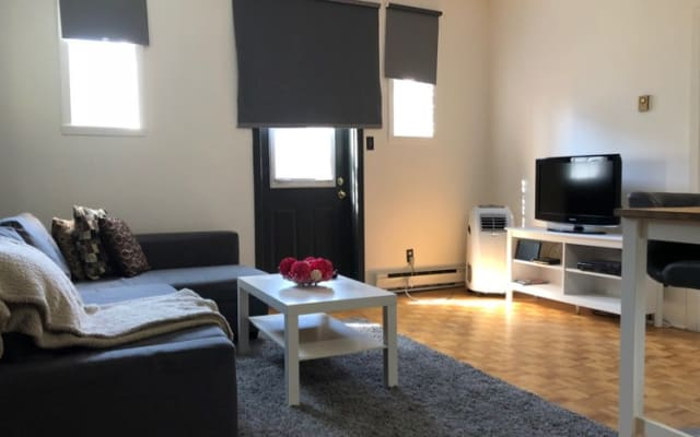 beautiful 1BD in Heart of The plateau Montreal