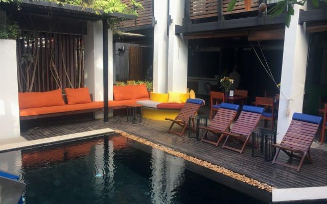 le pois papillon, un hôtel de charme à Siem Reap