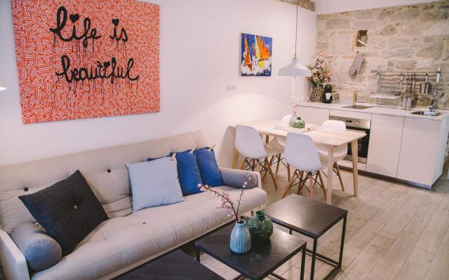 4 estrelas suites espaçosas no centro histórico de Split