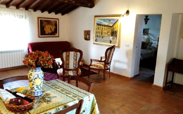 Villa autentica toscana La Mucchia Suite 7 '' Lavanda ''