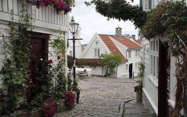 Au coeur du vieux Stavanger