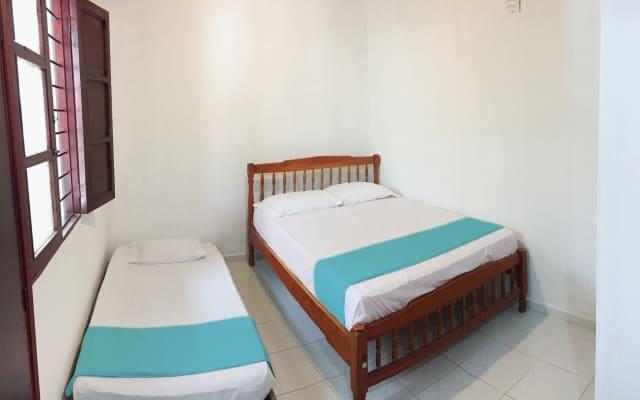 A6B3- Habitacion priv. cocina,centro, baño, aire, wifi.