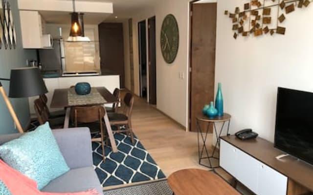 Brandneue Wohnung in Polanco, Aussicht, Pool, Fitnessraum...