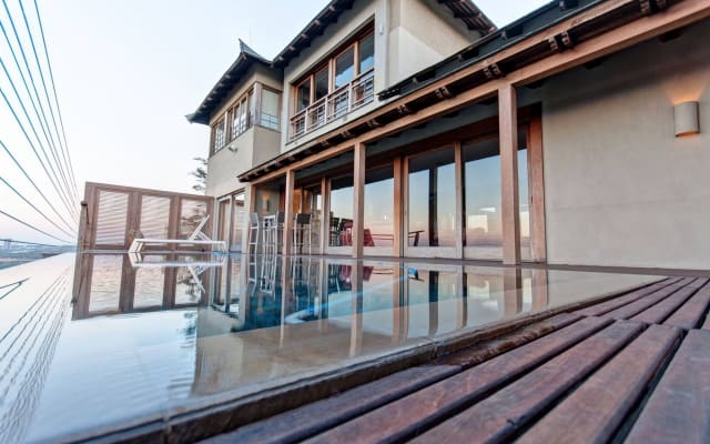 Japanese Palace - with some of the best views of Johannesburg