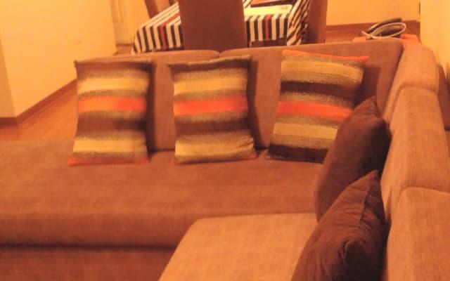 Chambre partagée + espaces communs. Comme à la maison...
