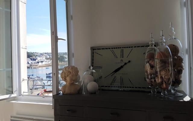 Wohnung mit schönem Hafenblick