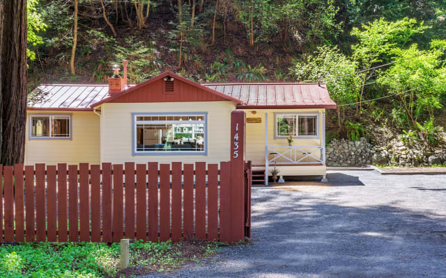 Cabin under the redwoods in Cazadero Russian River Area of Sonoma Cnty