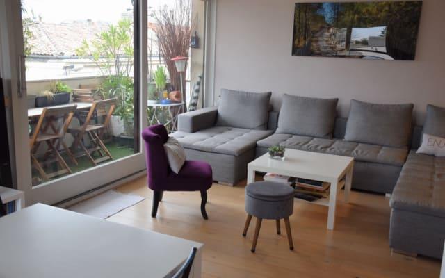 Camera in grande appartamento Chartrons / giardino pubblico