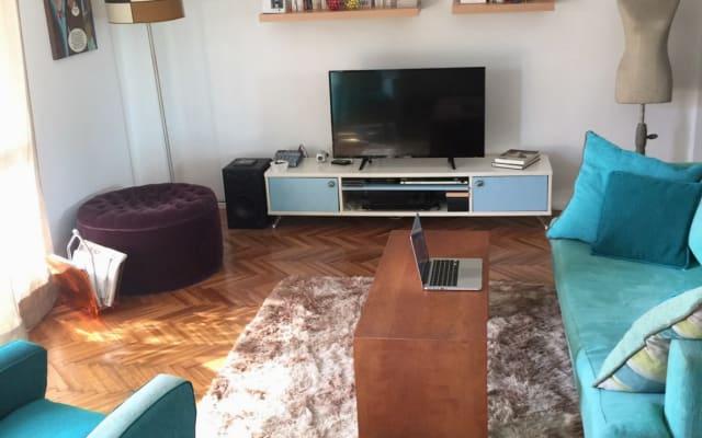Recoleta schönes Zimmer in charmanter Wohnung - Beste Gegend!