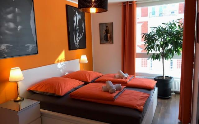 Chambre d'hôtes dans un appartement au Nollendorfplatz