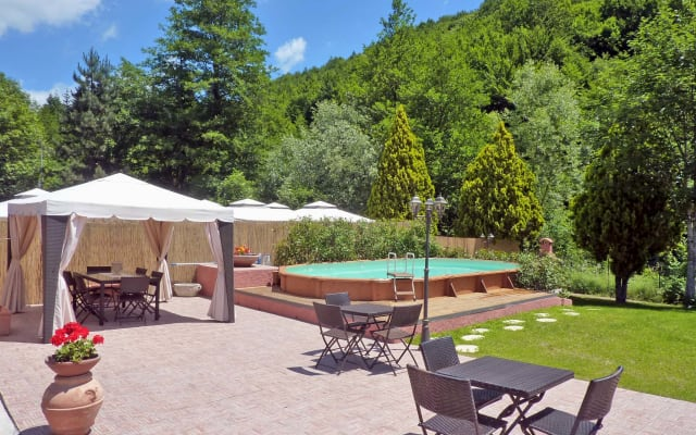 A Charming House in the Untouched Environment of the Tuscan Mountains