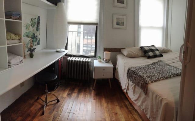 Linda habitación en el corazón de Manhattan