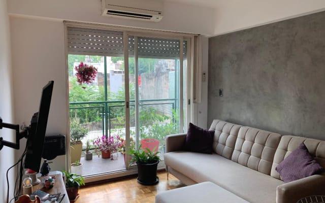 Habitacion en hermoso y luminoso departamento (Palermo QUEENS)