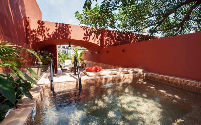 Private room at Villas Coralito