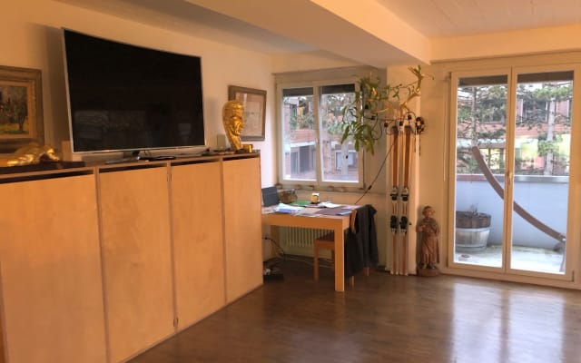 bom aconchegante apartamento estilo loft, 1 quarto