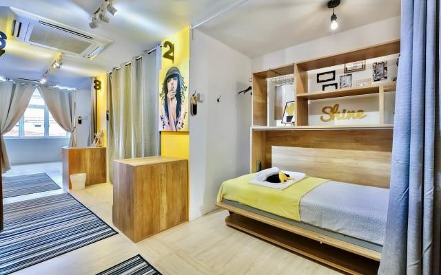 Cama Individual Individual em Dormitório Misto
