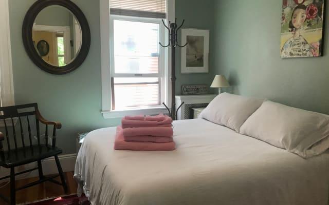 Room in Cambridge Condo with Private Bath