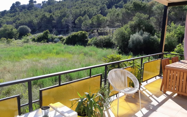 Quiet room 7 minutes from Sitges
