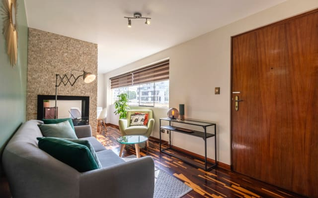 Residencial area beautiful apartment