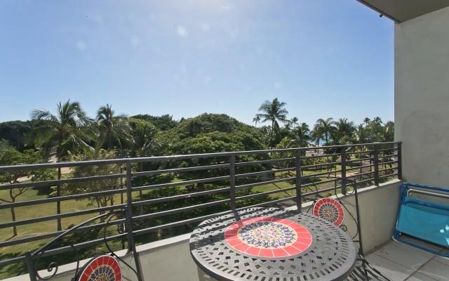Ocean and Diamond Head view suite w/balcony WG408