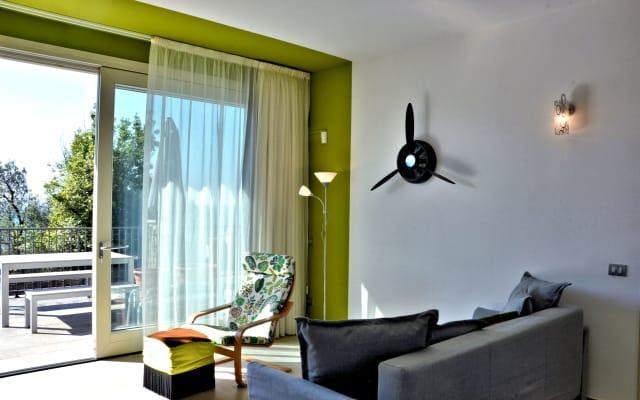 Residence Virgilio - Appartamento Green - Primo Piano Vista Lago