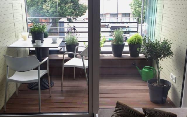 Stylish apartment, parking, balcony + champagne