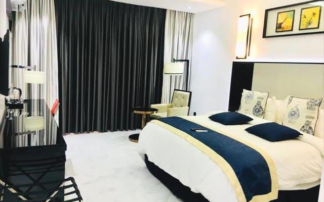 Accogliente hotel di lusso con serenità