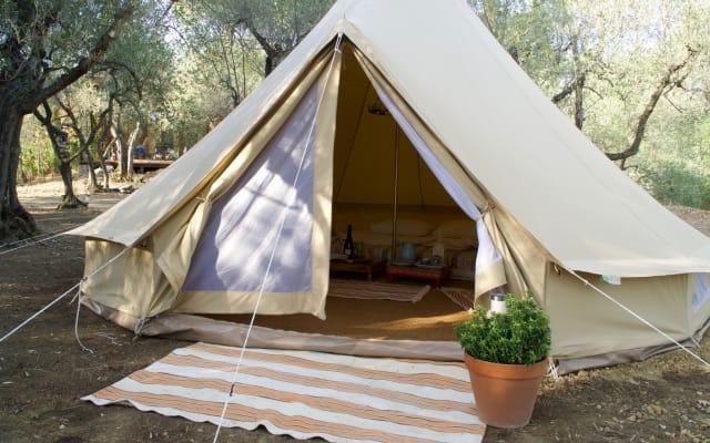Bellissima tenda Glamping in una tenuta toscana.