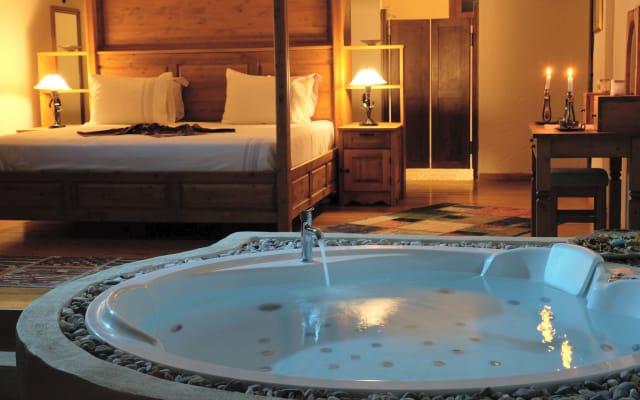 Un entorno virgen y lujoso y una cálida bienvenida personal.