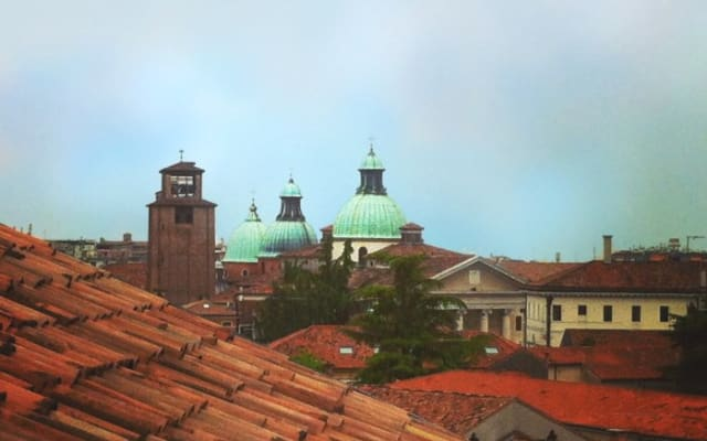 On The Rooftops Of Treviso