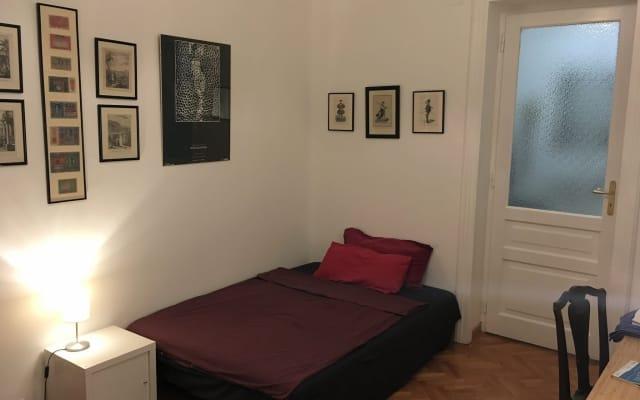 Habitación individual en mi departamento