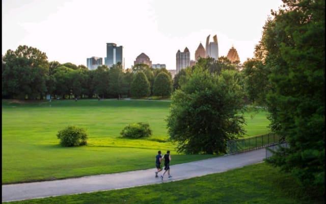 Piedmont Park Suite em Midtown, Atlanta, GA.