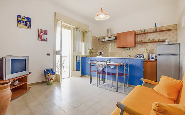 appartamento in villa indipendente vista mare