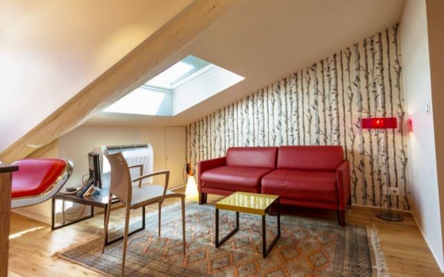 Appartement de charme en soupente place Garibaldi Nice