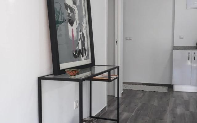 Habitación en piso totalmente nuevo y acogedor