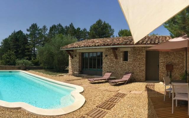 Le Mas les Pléiades, piscine privative, calme, sérénité, beauté