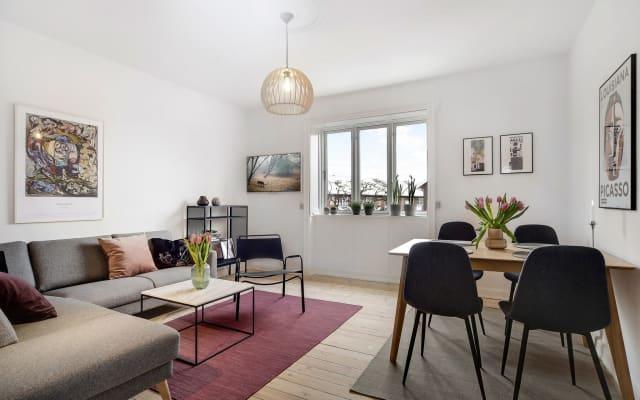 Classic Copenhagen apartment close to eveything
