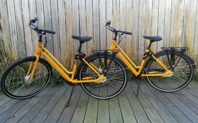 Chambre bambou (vélos gratuits à utiliser)