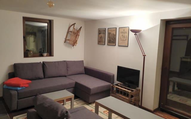Appartement stylé dans chalet, Val d'Abondance-Portes du Soleil/0