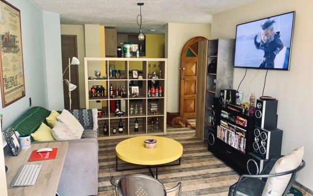 VIP BEDROOM IN CHAPINERO ALTO, BOGOTA, COLOMBIA.