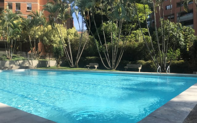 Gemütliches Zimmer in El Poblado, beste Gegend in Medellin!